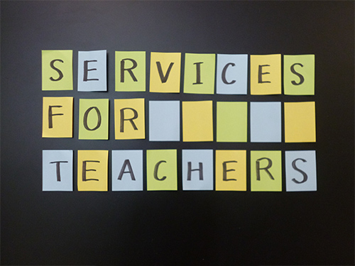 Services only for Teachers